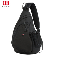 BALANG Men Crossbody Bag Casual Large Capacity Women Messenger Bags Unisex Famous Brand Travel Shoulder Bag