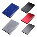 3TB Aluminum Computer PC USB 3.0 External HDD SDD Enclosure 2.5 Inch SATA 3 Hard Disk Drive Portable Case for Serial ATA HDD/SSD