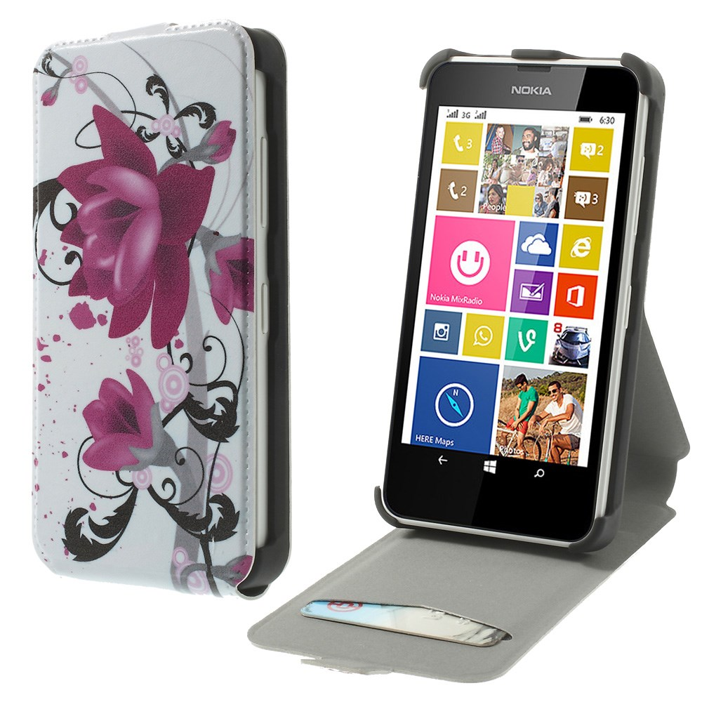 Phone Cases For Nokia Lumia 630 Nokia 60 Case Vertical PU