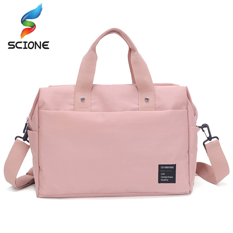Outdoor Top Canvas Waterproof Sports Gym Bag Women Men For Gym Fitness Training Shoulder Travel Handbag Yoga Bag Luggage