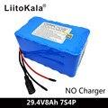 LiitoKala 24V 7S4P 8000mAh Высокая мощность 8AH 18650 литиевая батарея с BMS 29 4 V электрический велосипед электрический автомобиль