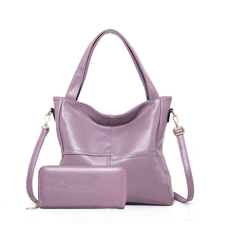 High quality designer leather women handbag and purse ladies casual tote bags handbags women famous brands bolsas kabelky sac casual silica gel cylindrical banana fruit handbags high quality women clutch ladies coin purse famous designer messenger bags