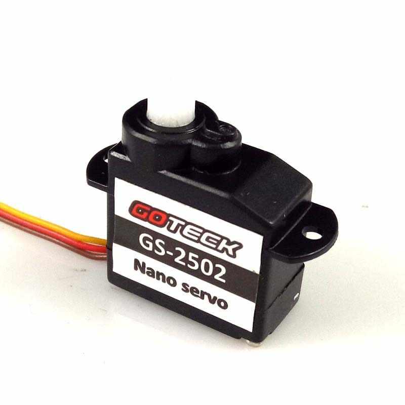 GOTECK GS-2502 Nano Servo 2g Lenkgetriebe mit JST Interface für RC Micro Indoor Flugzeug Motor Ersatzteile