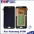 100% funcionando testado display lcd de substituição para samsung galaxy j120 j120f j120m j120h digitador touch com ferramentas gratuitas