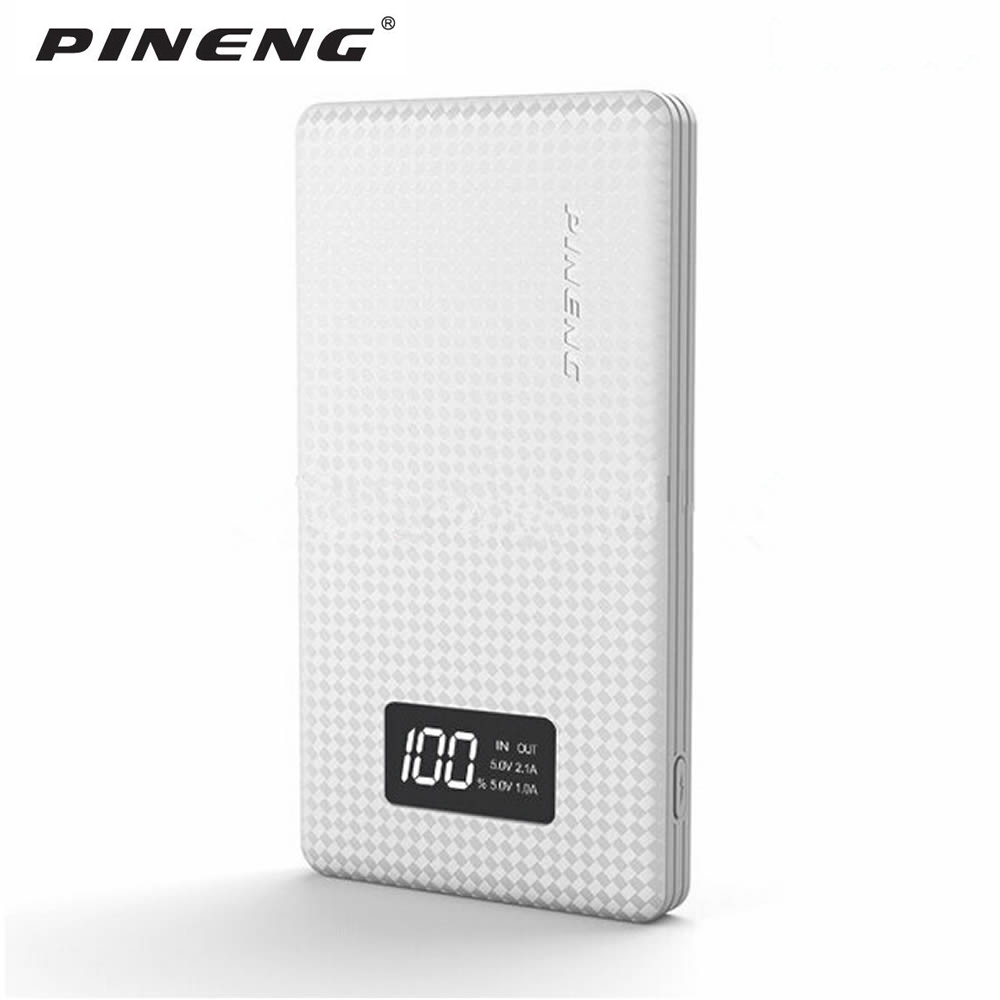Pineng 10000 mah PN963 Power Bank PN-963 power Tragbare Batterie Mobile Li-Polymer Bank mit Led-anzeige Für iphone7 samsung S7