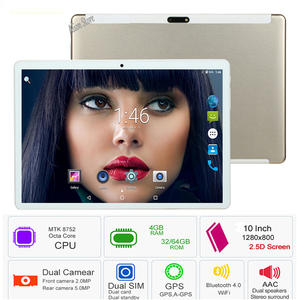 10inch Tablet Glass Super-Tempered Octa-Core Android 8.0 4GB IPS 64GB 64GB-ROM Gift Ips-Screen