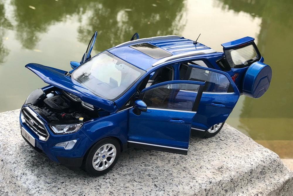1/18 Bilancia Ford Ecosport SUV Blu Diecast Toy Model Car Collection-in Macchinine in metallo e veicoli giocattolo da Giocattoli e hobby su  Gruppo 3