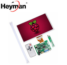 Heyman 9.0 inch Orange Pi PC Banana Pi M3/Pro LCD Display Screen TFT LCD Monitor AT090TN10 + Kit HDMI VGA Input Driver Board
