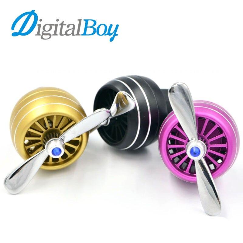 Digitalboy Car Air Conditioner Outlet Vent Clip Mini Fan Air