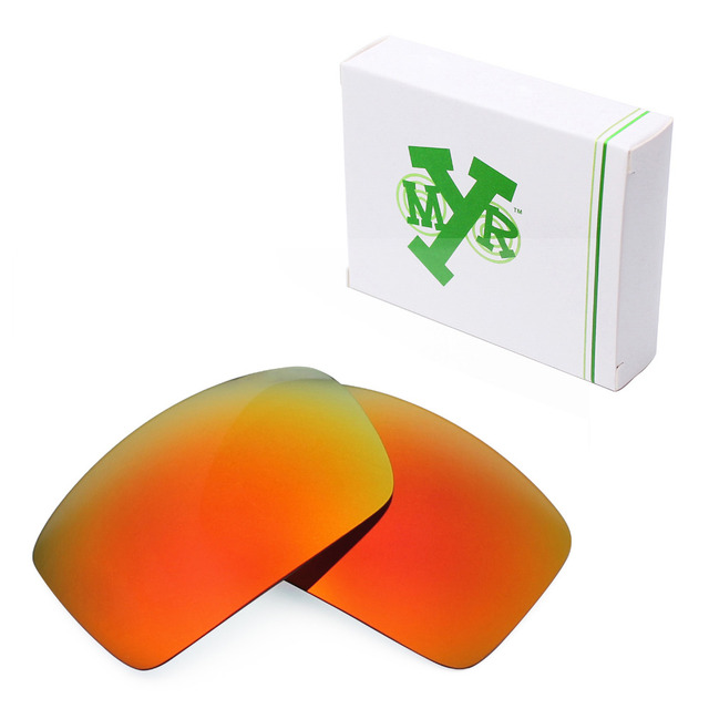 a36eed3e97f Mryok POLARIZED Replacement Lenses for Oakley Oil Drum Sunglasses Fire Red