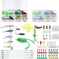 Plusinno frogs Fishing Lure Set 67pcs/LOT Rubber Soft Bass Lures fishing tackle Fishing Gear Lures Kit Set