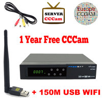 1 Year Cccam Server Freesat V7 Satellite Receiver Usb WiFi Spport DVB S2 Ccam PowerVu YouTube