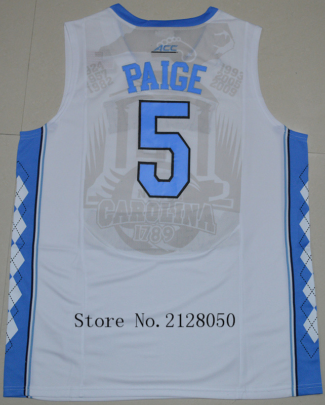 8d063d72cc0a7f North Carolina Tar Heels 5 Marcus Paige 11 Brice Johnson 15 Vince Carter 23  Michael Jordan 40 Harrison Barnes Basketball Jersey-in Basketball Jerseys  from ...