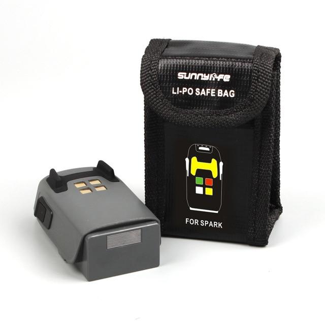 Dji Spark Lipo Battery Safe Bag Explosion proof Protective Battery Safety Guard for DJI Spark Storage Bag