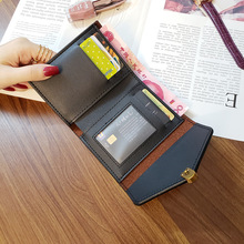 Wallet Small Fashion Brand Leather Purse Women Ladies Card Bag For Women 2019 Clutch Wallet Women Female Purse Money Clip Wallet