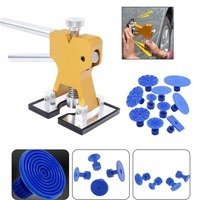 Car Repair Hand Tools Set Practical Hardware Woodworking Tools Dent Lifter Cars Repairing pdr puller 18 Tabs Hail Removal