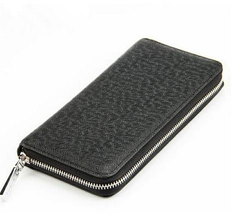 Hot selling  2017 new fashion women men wallet genuine leather zipper wallet with good qaulity