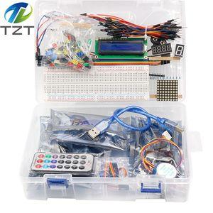 Image 3 - TZT أحدث عدة بداية تتفاعل لاردوينو UNO R3 نسخة مطورة التعلم جناح مع صندوق البيع بالتجزئة