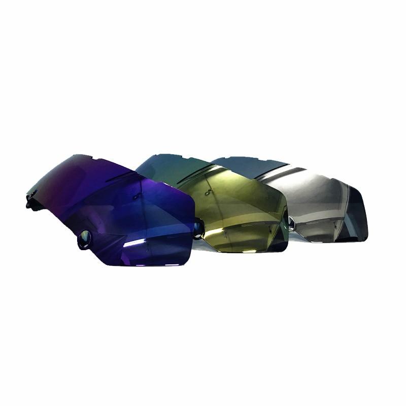 Colore Visor Shield Masei 610 Atomic Man Iron Flip-Up Moto Casco Nuovo