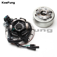 Magneto coil Stator Rotor Kit Without Light FIT Chinese YX 150cc 160cc Engine Pit Dirt Bike PitsterPro Stomp Thumpstar SDG GPX