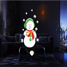 Dynamic 12 Patterns Santa Claus Christmas Laser Projector Indoor Outdoor Animation Effect Snowflake Snowman Projector Remote
