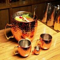 Giant 5L Hammered Moscow Mule Mug Mega Mug Moscow Mule Ice Bucket Mug 1