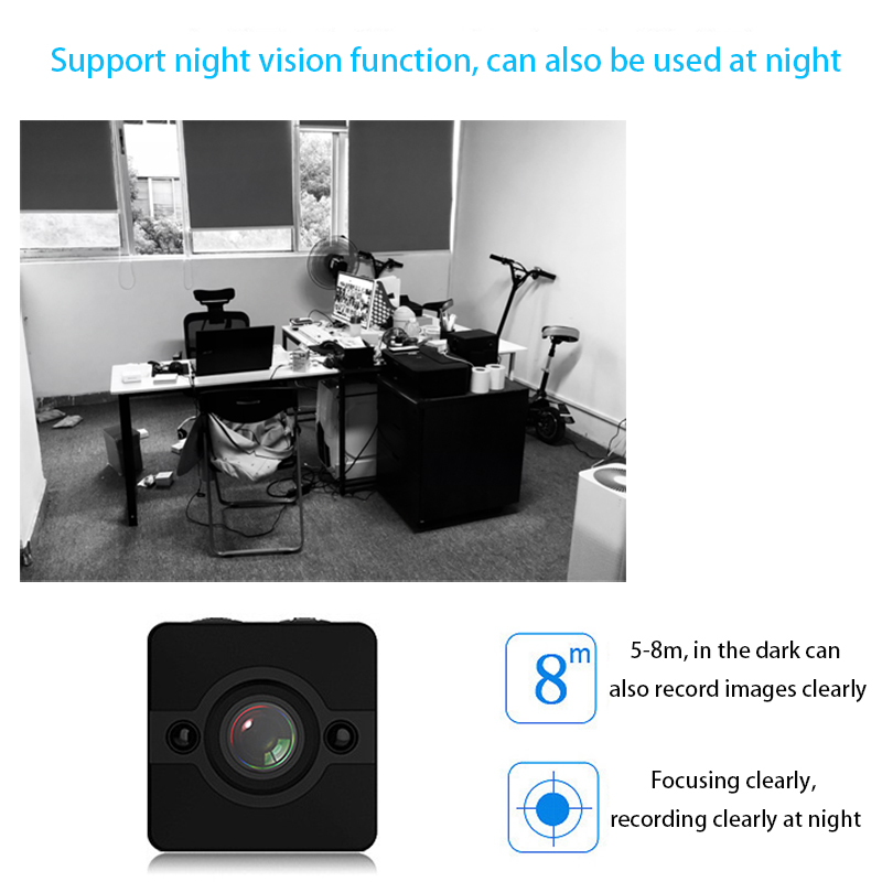 SQ11 Update SQ12 Mini Camera Camcorders CMOS SQ12 mini Camera Night Vision 1080p HD Video Recorder Sport Full HD Waterproof DVR