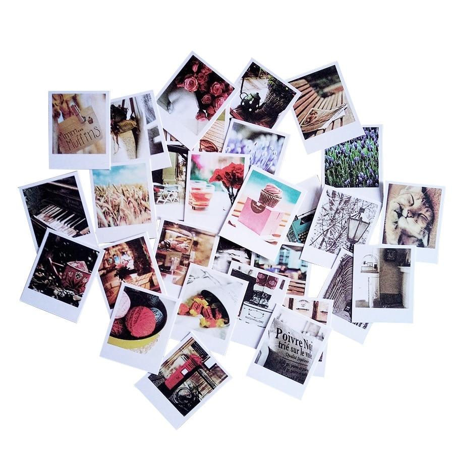 60pcs/lot Vintage Romantic Postcard Envelope With Seal Stickers Cute Card Set Mini Greeting Card Kraft Envelope Fashion Gift