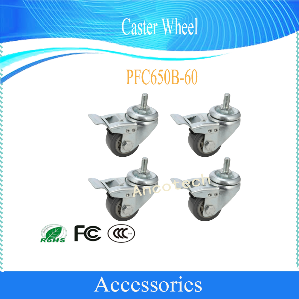 где купить Free Shipping Dahua Caster Wheel Without Logo CCTV Accessories PFC650B-60 по лучшей цене
