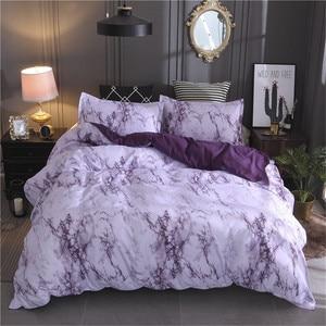 Image 5 - LOVINSUNSHINE Marble Bedding Set Duvet Cover Twin Queen Quilt Cover Comforter Bedding Sets King AB01#