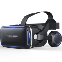 VR Shinecon 6.0 Virtual Reality 3D Glasses Headset Version Google Cardboard Movie VR Box For Android iOS Phone Samsung Galaxy S9