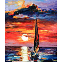 Diamond Painting Diy5D Oil Sailing Resin Full Cross Stitch Masek Home Decoration Factory Direct Sales 	L711