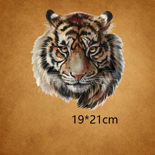 26f29b1f22c Hot Sell Large Big Yellow Tiger Embroidered Patch Iron On Patches For  Clothing Motor Jacket Fashion T-shirt Stickers For Clothes