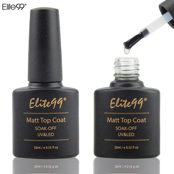 Elite99 10 ml Matt Top Mantel Nagel Gel Polish Nail art Transparent Dull Finish Matte Top Mantel Lang Anhaltende Gel lack Matt Top Gel