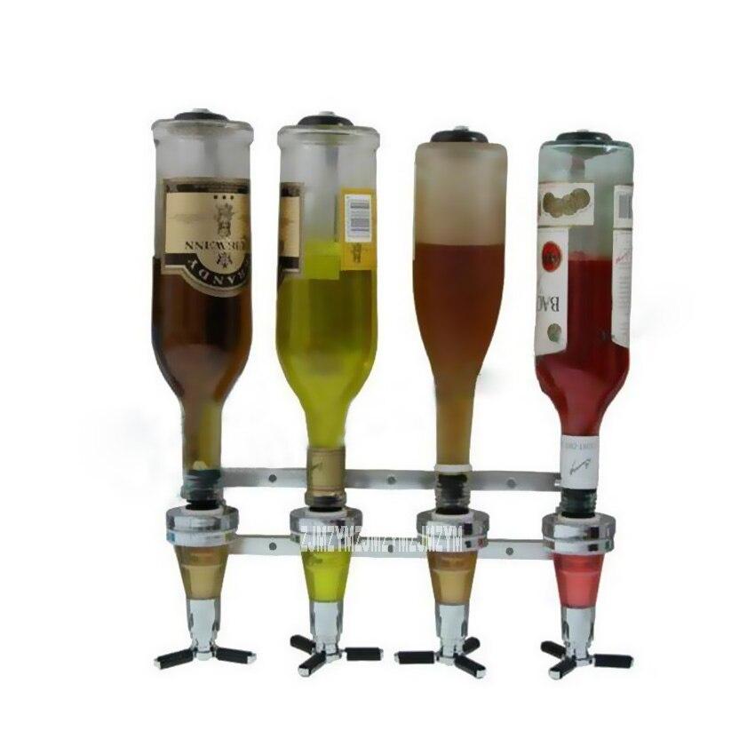 Bar ouvert mural support liqueur Cocktail esprit distributeur verseur vin supports BJD-06 25 ML/30 ML/45 ML 3 sub-vin robinet en option