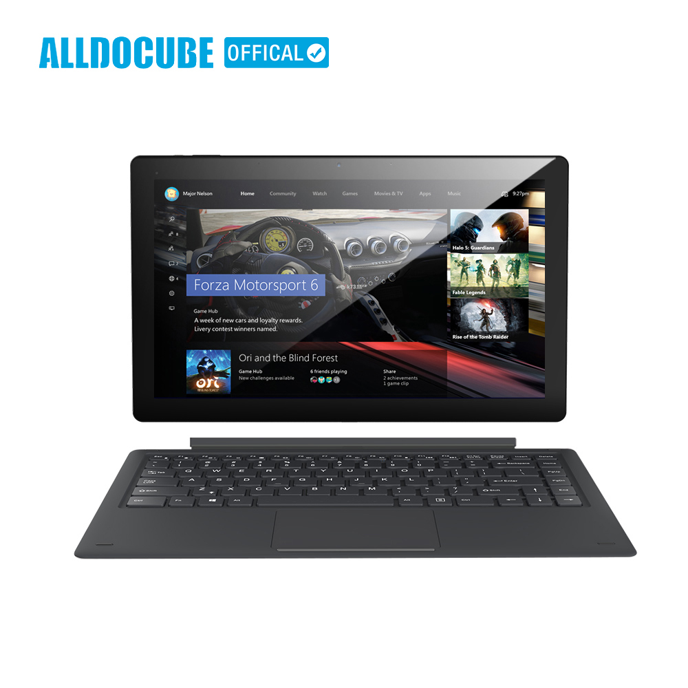ALLDOCUBE Knote8 13.3 pollice 2 IN 1 Tablet PC di Visualizzazione Completa 2560x1440 IPS Windows10 intel Kabylake 7Y30 8 gb di RAM 256 gb di ROM Micro HDMI