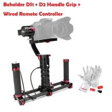 Beholder DS1 3 Оси Бесщеточный Ручной Gimbal Стабилизатор 32-бит Контроллер с Двумя ИДУ Датчики + D2 Ручка + Кабель для Зеркалок