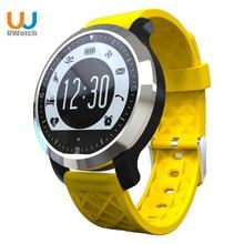 Uwatch f69 bluetooth smartwatch pulsometer sport schwimmen wasserdichte für apple iphone ios android heißer männer tragbare intelligente uhren