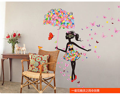 Buy removable wall sticker butterfly for Como pegar papel mural