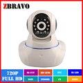 Interior Câmera IP Sem Fio Wi-fi P2P HD Casa 720 P Nuvem Câmera Night Vision Pan/Tilt Áudio Bidirecional Câmera de segurança de Rede
