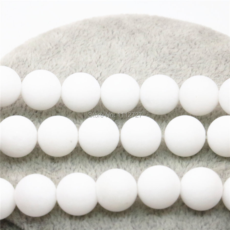 4 6 10 12mm Accessory Crafts Parts White Diy Beads Women Girls