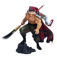 Japan's One Piece battle version super huge white beard Edward Newgate hand Action toy figures