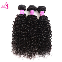 Mongolian Kinky Curly Hair Extensions 3 Bundles Deal Real Beauty Remy Afro Kinky Human Hair Weave Bundles Free Shipping