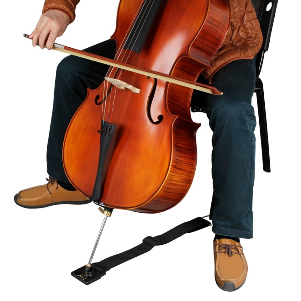 Cello Endpin Stopper Stop Holder Ankerschutz Rutschfest Mit Metallöse N7B7