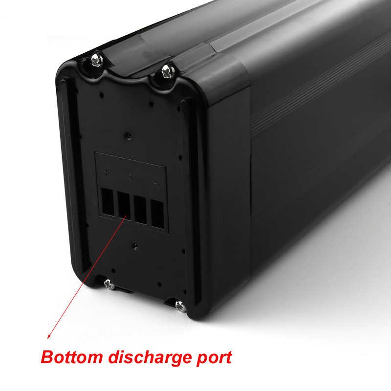 Newest fish model 18650 cell fit for 48v 1000w motor kit scooter battery 48v 8ah li ion battery pack with usb battery charger
