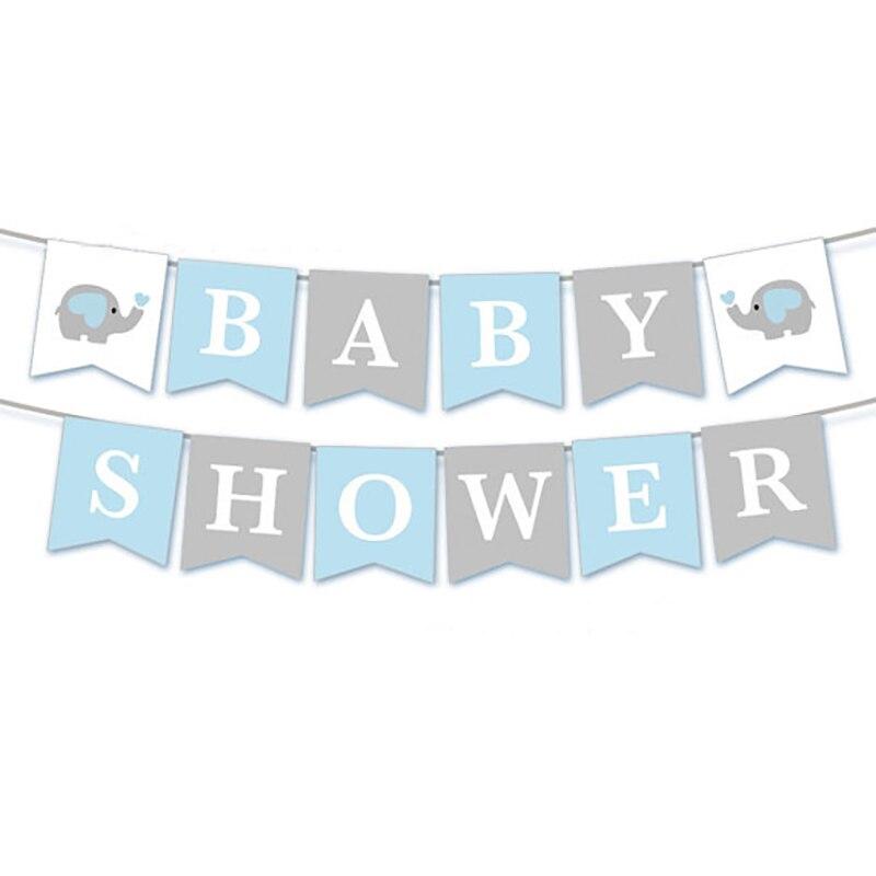 1 set Ipopu olifant Baby Shower Jongen Meisje Het een Jongen Het een Meisje Geslacht Onthullen Kids Verjaardag baby Shower feestartikelen 5