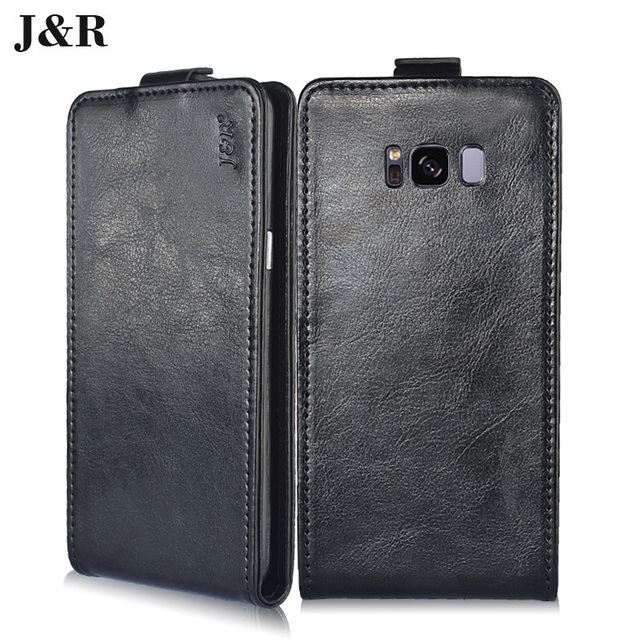 Luxury PU Leather Case For Samsung Galaxy S8 Plus G9550 G955F SM-G955F SM-G955N SM-G955FD Flip Vertical Back Cover Phone Cases