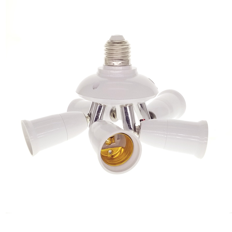3/4/5 in 1 E27 Socket SplitterLamp Base Adjustable Base Light Lamp Bulb Adapter Holder Socket Splitter 1 to 5 With Best Price the jayhawks the jayhawks mockingbird time cd dvd