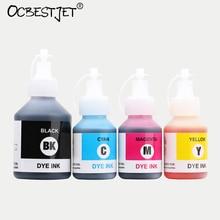 Новая улучшенная универсальный краситель чернила для брата DCP-T300 500 Вт T700W T800W принтер 4 цвета пополнения Dye Ink (BK-100ML c /M/Y-50ML)