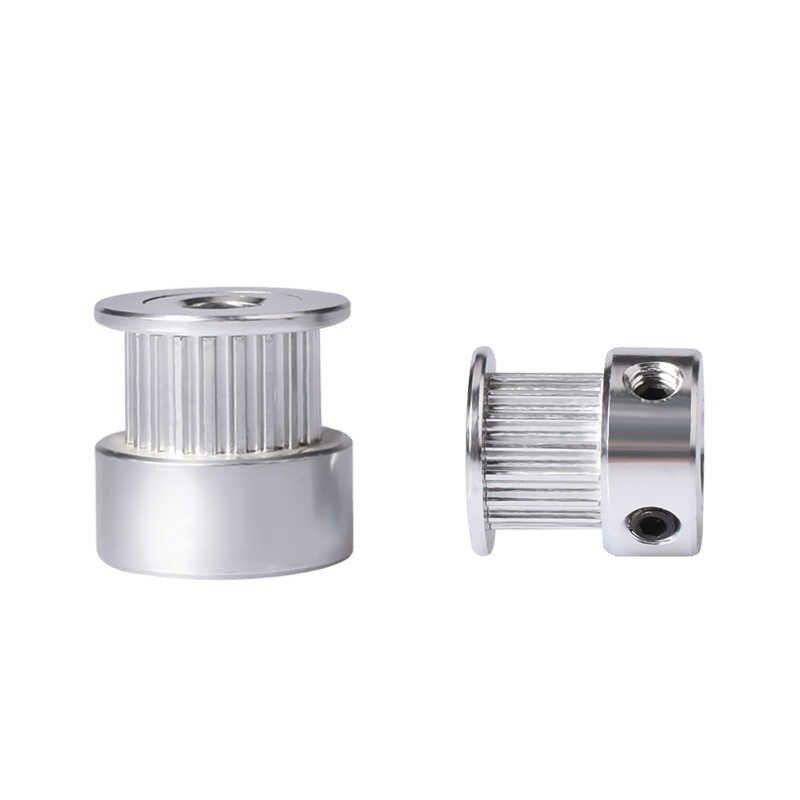 Peças da impressora 3d gt2 20 dentes 16 dentes 20 dentes furo 5/8mm cronometrando polia de alumínio para GT2-6MM correia dentada aberta engrenagem síncrona